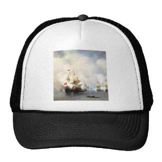 Fight of hiosu strait mesh hats