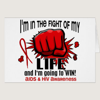Fight Of My Life 2 AIDS Card