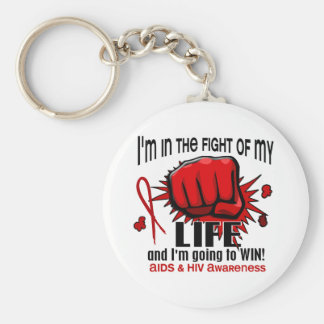 Fight Of My Life 2 AIDS Key Chain