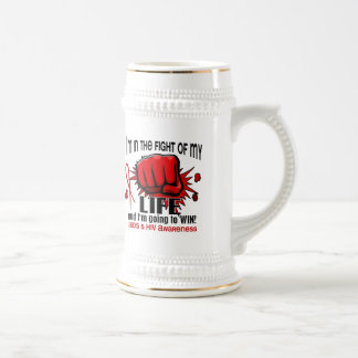 Fight Of My Life 2 AIDS Coffee Mugs