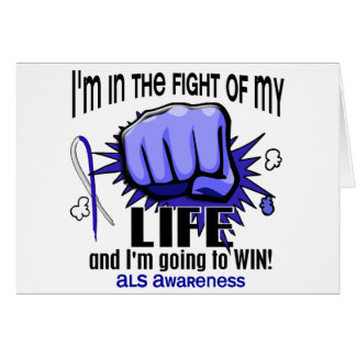 Fight Of My Life 2 ALS Greeting Card
