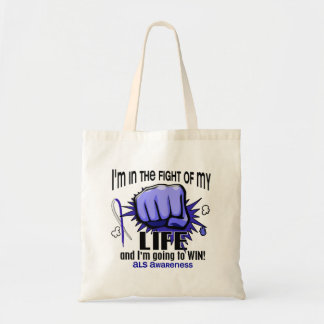 Fight Of My Life 2 ALS Tote Bag