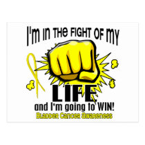 Fight Of My Life 2 Bladder Cancer Postcard