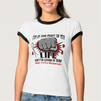 Fight Of My Life 2 Brain Tumor T-Shirt