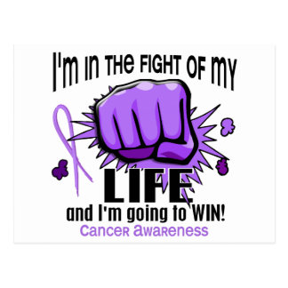 Fight Of My Life 2 Cancer Postcard