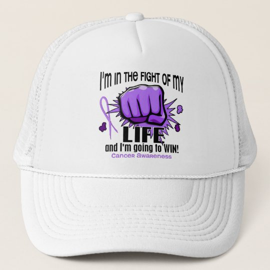 Fight Of My Life 2 Cancer Trucker Hat