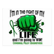 Fight Of My Life 2 Cerebral Palsy Postcard