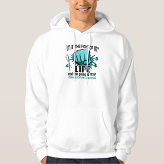Fight Of My Life 2 Cervical Cancer Hoodie