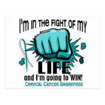 Fight Of My Life 2 Cervical Cancer Postcard