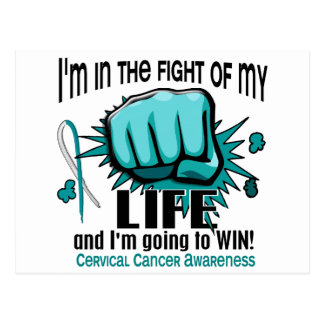 Fight Of My Life 2 Cervical Cancer Postcards