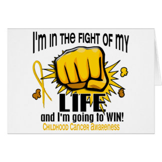 Fight Of My Life 2 Childhood Cancer Cards