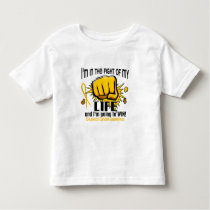 Fight Of My Life 2 Childhood Cancer Toddler T-shirt