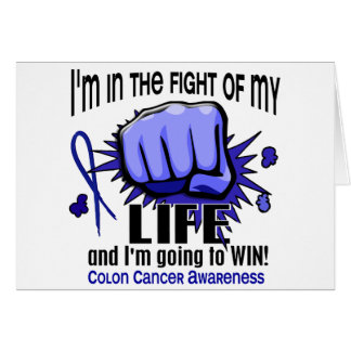 Fight Of My Life 2 Colon Cancer Card