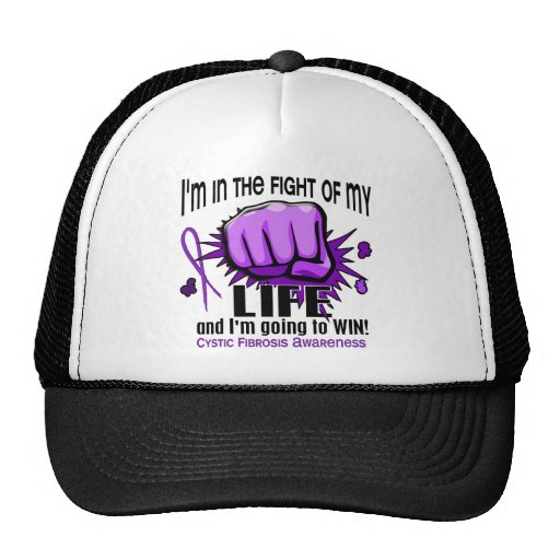 Fight Of My Life 2 Cystic Fibrosis Mesh Hat