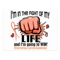 Fight Of My Life 2 Endometrial Cancer Postcard