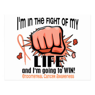 Fight Of My Life 2 Endometrial Cancer Post Cards