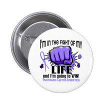 Fight Of My Life 2 Esophageal Cancer Button