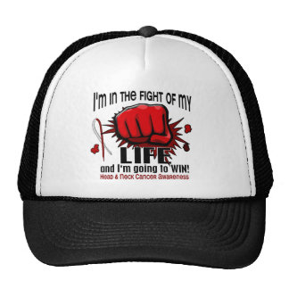 Fight Of My Life 2 Head And Neck Cancer Trucker Hat