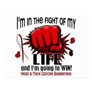 Fight Of My Life 2 Head And Neck Cancer Postcard