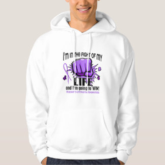 Fight Of My Life 2 Hodgkin's Lymphoma Hooded Pullover