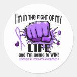 Fight Of My Life 2 Hodgkin's Lymphoma Round Sticker