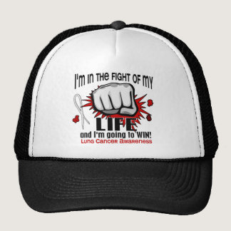 Fight Of My Life 2 Lung Cancer Trucker Hat