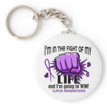 Fight Of My Life 2 Lupus Keychain
