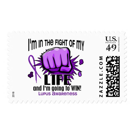 Fight Of My Life 2 Lupus Postage Stamps