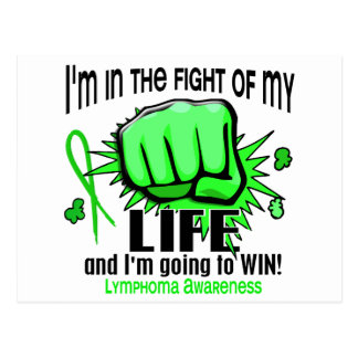 Fight Of My Life 2 Lymphoma Postcard