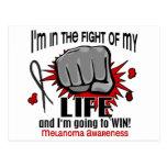 Fight Of My Life 2 Melanoma Postcards