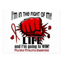 Fight Of My Life 2 Multiple Myeloma Postcard