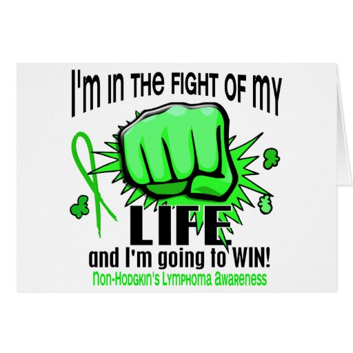 Fight Of My Life 2 Non-Hodgkin's Lymphoma Card