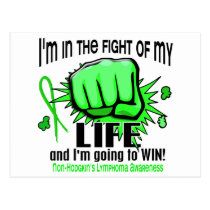 Fight Of My Life 2 Non-Hodgkin's Lymphoma Postcard
