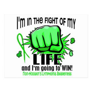 Fight Of My Life 2 Non-Hodgkin's Lymphoma Postcard