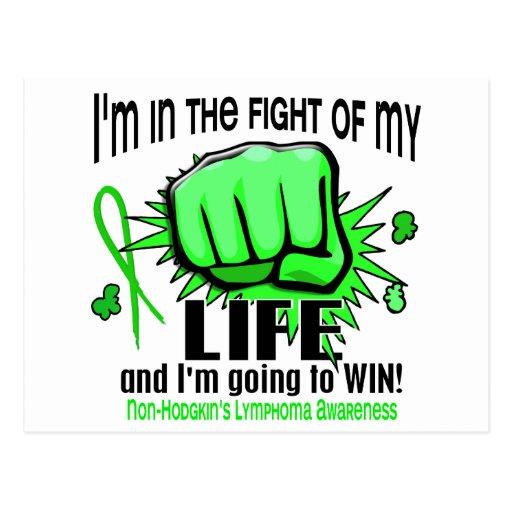 Fight Of My Life 2 Non-Hodgkin's Lymphoma Postcards