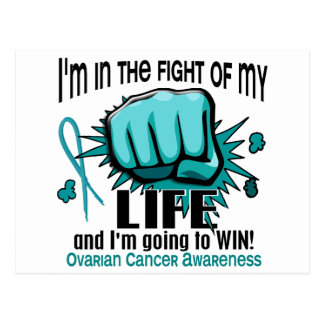 Fight Of My Life 2 Ovarian Cancer Postcard
