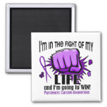 Fight Of My Life 2 Pancreatic Cancer 2 Inch Square Magnet