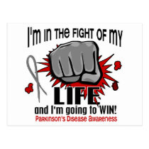 Fight Of My Life 2 Parkinson's Disease Postcard