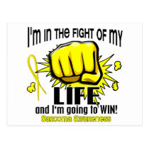Fight Of My Life 2 Sarcoma Postcard