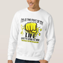 Fight Of My Life 2 Testicular Cancer Sweatshirt