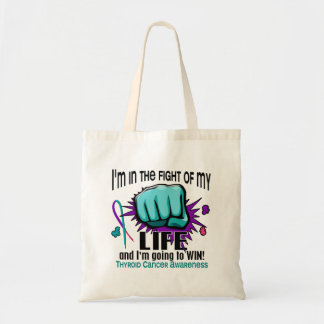 Fight Of My Life 2 Thyroid Cancer Tote Bag
