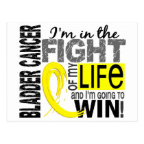 Fight Of My Life Bladder Cancer Postcard