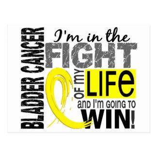 Fight Of My Life Bladder Cancer Postcard
