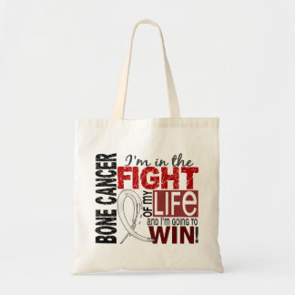 Fight Of My Life Bone Cancer Tote Bags