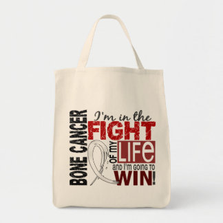 Fight Of My Life Bone Cancer Canvas Bag