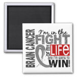 Fight Of My Life Brain Cancer Magnets