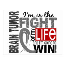 Fight Of My Life Brain Tumor Postcard