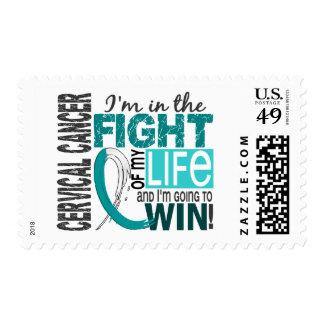 Fight Of My Life Cervical Cancer Stamp