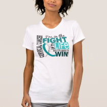 Fight Of My Life Cervical Cancer T-Shirt