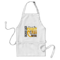 Fight Of My Life Childhood Cancer Adult Apron